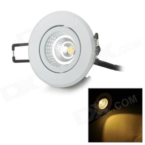 YouOKLight 4W 262lm 3500K 1-COB LED Warm White Ceiling Down Light