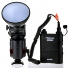 GODOX Witstro AD180 Portable 5600K Speedlite Flash w/ PB960 Lithium Power Pack - Black