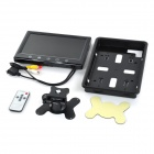 "9 ""carro TFT Monitor de Displayer w / Stand + Key Touch + Controle Remoto - Preto"