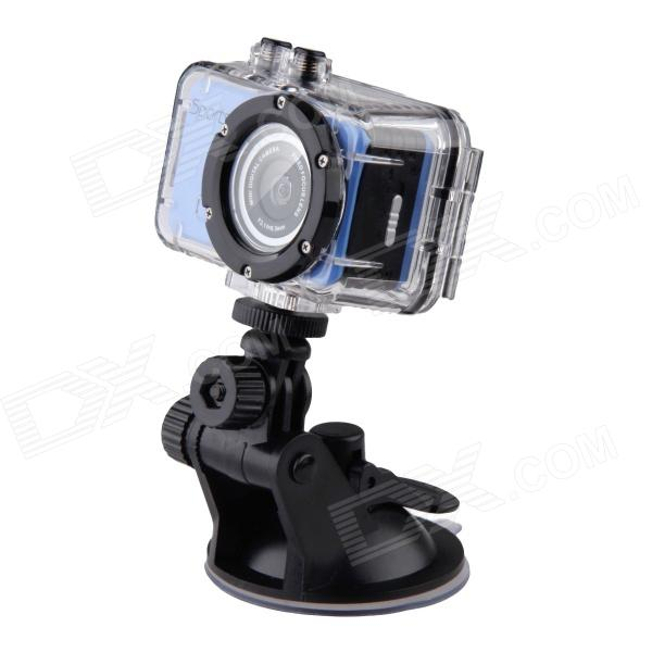 SG180 1.3MP720P  CMOS 20M Waterproof Sports Camcorder - Blue