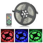 LetterFire Waterproof 36W 1200lm 150-SMD 5050 LED RGB Light Strip - Black (DC 12~24V / 5M)