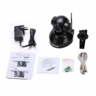 ESCAM Pearl QF100 720P 1MP Wifi Security Surveillance IP Camera w/ Night Vision - Black (AU Plug)