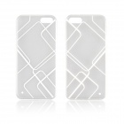 Angibabe 0.3mm TPU Protective Back Case for IPHONE 5 / 5S - White