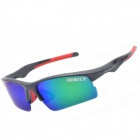 OUMILY Sports Cycling Resin Lens UV400 Protection Polarized Sunglasses / Goggles - Multi-colored