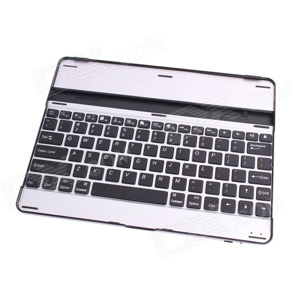 EJ003 Portable Aluminum Alloy Bluetooth V3.0 82-Key Keyboard for IPAD 2 / THE NEW IPAD / IPAD 4