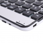 EJ003 Portable aluminium alliage Bluetooth V3.0 82 touches clavier pour IPAD 2 / le nouvel IPAD / IPAD 4