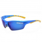 OUMILY Outdoor Cycling UV400 Protection Resin Lens Polarized Sunglasses / Goggles - Blue