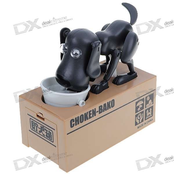 Choken Bako Robotic Dog Coin Bank (2*AA)