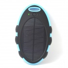 ODEM T013 5V 5000mAh Dustproof Shockproof Waterproof Li-polymer Battery Solar Powered Power Bank