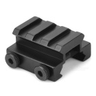 Y0017 Aluminum Alloy Gun Sight Mount with Hex Wrench - Black