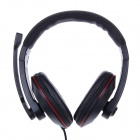 KEENION KDM-E755 3.5mm Wired Stereo Headphone - Black
