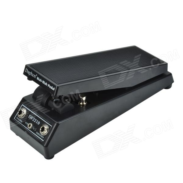Daphon DF2210 Wah-Wah Pedal / Guitar Effect Pedal - Black new caline wah wah pedal hot spice switchable between wah mode and vol mode dc9v input caline wah pedal footswitch