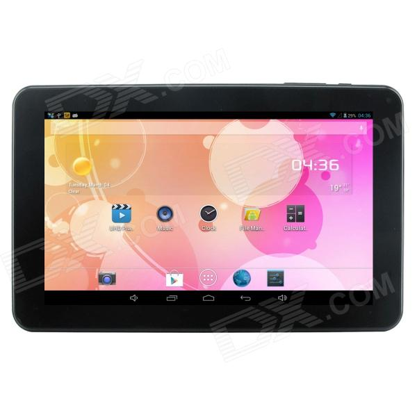 "Q92pro 9"" Allwinner A23 tokjerners Android 4.2.2 Bluetooth Tablet PC med 512MB RAM, 8 GB ROM - svart"