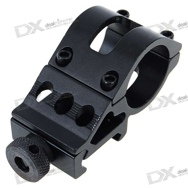 T2008 Aluminum Alloy Gun Barrel Laser/Flashlight Mount with Hex Wrench vector optics magnus green laser flashlight designator adjustable beam focus sight with scope mount ring fit night vision