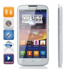 "Lenovo A560 Quad-core Android 4.3 WCDMA Bar Phone w/ 5.0"" Screen, Wi-Fi and GPS - White"