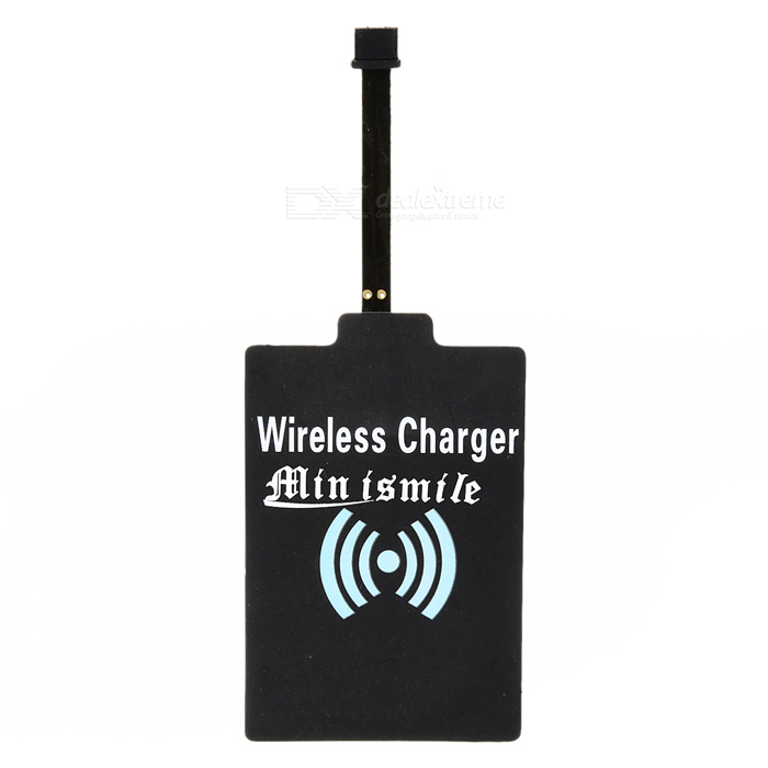 FPC 5V 1000mA QI Wireless Charger Receiver Module for Motorola MOTO E - Black universal qi wireless charger for cellphone black