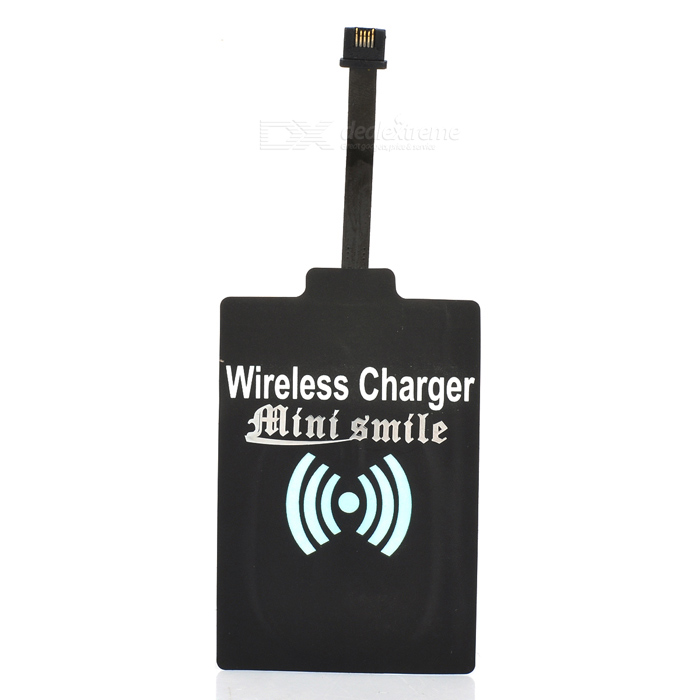 FPC 5V 1000mA QI Wireless Charger Receiver Module for HTC One 2 / M8 - Black universal qi wireless charger for cellphone black