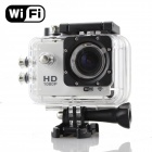 "MO.MAT SJ4000+ 1.5"" TFT 12.0 MP 2/3"" CMOS 1080P Full HD Wi-Fi Sports Camera for Phone / Tablet"