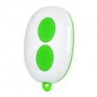 Wireless Bluetooth V3.0 Selfie Camera Remote Shutter for iOS / Android System - Green (1 x CR2032)