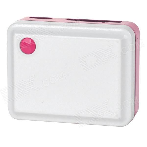 TK105 PC Mini GPS Tracker - White + Pink