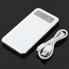 "SOONA SNA8010 Universal OLED Screen ""6500mAh"" External Li-polymer Battery Power Bank - White"