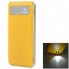 "SOONA SNA8010 Universal OLED Screen ""6500mAh"" External Li-polymer Battery Power Bank - Yellow"