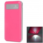 "SOONA SNA8010 Universal OLED Screen ""6500mAh"" External Li-polymer Battery Power Bank - Deep Pink"