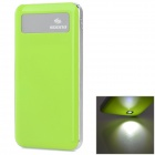 "SOONA SNA8010 Universal OLED Screen ""6500mAh"" External Li-polymer Battery Power Bank - Green"