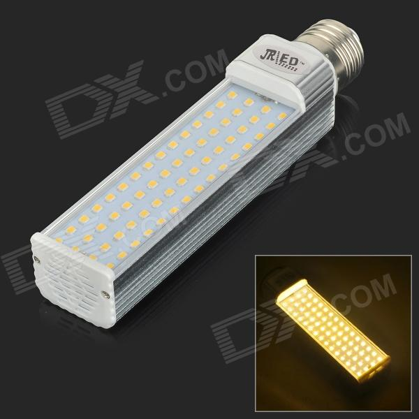 JRLED E27 14W 900lm 3300K 60-SMD 2835 LED Warm White Horizontal Lamp - Silver + White (AC 85~265V) виниловый проигрыватель pro ject the classic walnut 2m silver