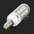 JRLED E14 6W 400lm 36-SMD 5730 LED Cold White Corn Lamppu (AC 220 ~ 240V)