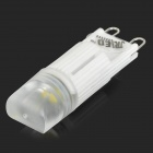 JRLED JRLED-G9-G21-TC G9 2.2W 130lm 7000K 1-SMD 5050 LED Cool White Dimmable Bulb - White (AC 220V)