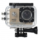 "MINISMILE SJ4000 Sports 1.5"" TFT Screen WiFi HD 1080P Wide-Angle DV Video Camera Camcorder - Golden"