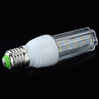 JRLED E27 5W 200lm 3300K 20-SMD 2835 LED Warm White Corn Lamp - White + Transparent (AC 85~265V)