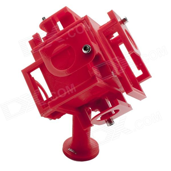 JUSTONE 3D Printing 360 Degrees Panoramic View Video Mount Holder for Gopro Hero 4/ 3/3+/SJ4000 - Red горелка tbi sb 360 blackesg 3 м