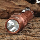 UltraFire S3 LED 100lm White 3-Mode Rechargeable Flashlight - Brown (1 x 18650)