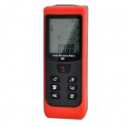 "D60 Portable 60m 1.8"" Digital Laser IR Distance Meter / Rangefinder - Black + Red (2 x AAA)"