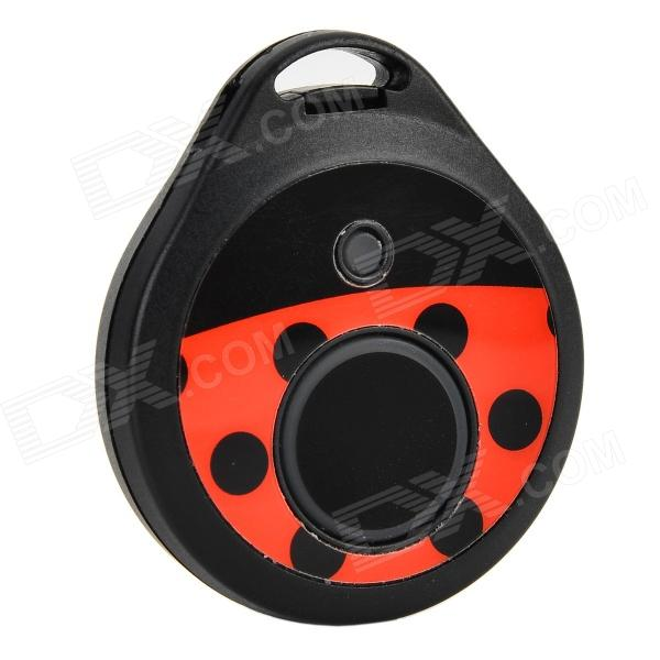 Spedal Beetle Style Bluetooth V4.0 Anti-Lost Alarm Tracker - Black + Red (1 x CR2032)