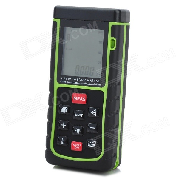 Generic RZ-E40 40m 1.8 Laser Distance / Area / Volume Meter w/ Bubble Level - Black + Green yes yes relayer cd dvd