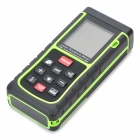 "Generic RZ-E40 40m 1.8"" Laser Distance / Area / Volume Meter w/ Bubble Level - Black + Green"