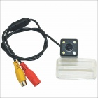 "Carking Car 1/4"" CCD High Definition Reverse Backup Rear View Camera w/ 4 LED for Corolla 2014"