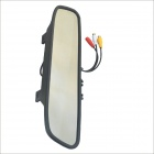 "Carking YG-430 4.3"" Car TFT LCD Rearview Mirror Monitor w/ AV Input for Parking - Black"
