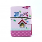 Faminly Owl Pattern 360 Degree Rotating PU Leather Full Body Case with Stand for IPAD MINI / MINI 2