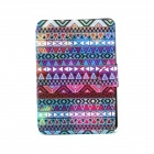Colorful Pattern 360 Degree Rotating PU Leather Full Body Case with Stand for IPAD MINI / MINI 2