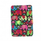 Baby Elephant Pattern 360 Degree Rotating PU Leather Full Body Case with Stand for IPAD MINI / MINI
