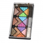 Cosmetic Makeup 18-Color Eye Shadow Palette - Multicolored