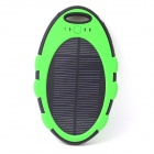 ODEM 5000mAh Dustproof Shockproof Waterproof Li-polymer Battery Solar Charger External Bank