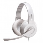 Bingle B326 Headband Music Headphone w/ Mic. / 3.5mm / Remote for Cell Phone / Tablet PC - White