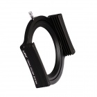 "LIPA Lipast1 Aluminum Alloy Filter Holder w/ Ring Adapter for 4"" Cokin Z Square Filter - Black"