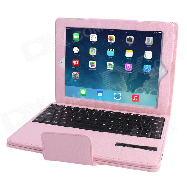 Removable Magnet Bluetooth V3.0 Keyboard with PU Leather Full Body Case for IPAD 2 / 3 / 4 (83-Key)