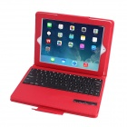 Flyttbare Magnet Bluetooth 3.0 tastatur med PU skinn Full kropp sak for IPAD 2 / 3 / 4 (83-Key)